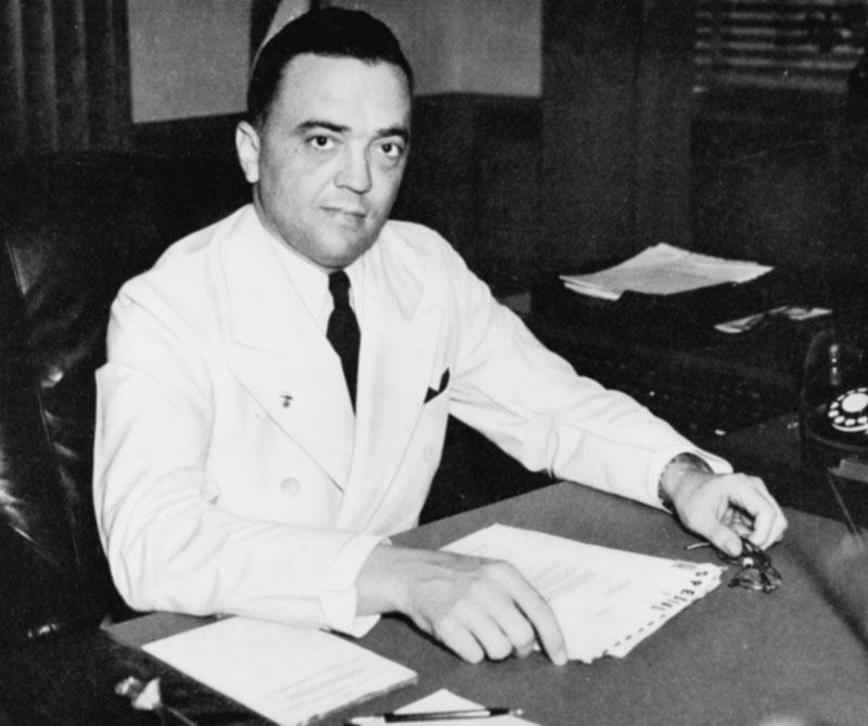 FBI J. Edgar Hoover