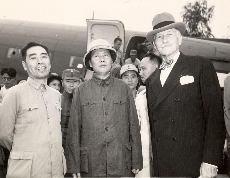 Zhou-Mao-HurleyChungking1945